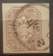 AUSTRIA 1863 - Canceled - ANK 29 - Newspaper Stamp - Journaux