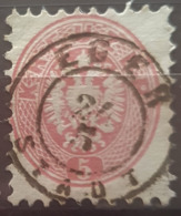AUSTRIA 1863/64 - EGER Cancel - ANK 32 - 5kr - Gebraucht