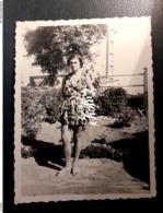 PHOTO MODE TENUE EPOQUE TENUE DE PLAGE 1952 - Moda