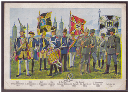 Dt- Reich (006573) Propagandakarte Geschichte Des Infanterie Regiment 82 Und Seine Stammtruppenteile, Ungebraucht - Deutschland