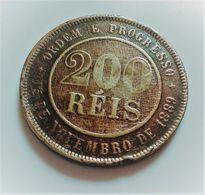 BRESIL 200 REIS 1889 N° 667 - Brazil