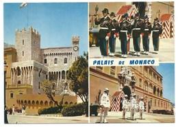 CARTE POSTALE PRINCIPAUTE DE MONACO LE PALAIS / RELEVE DE LA GARDE - Palacio Del Príncipe