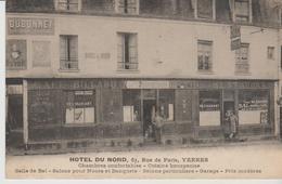 "91. YERRES "" Hotel Du Nord 63 Rue De Paris "") - Yerres"