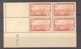 Algérie  -  Avion  :  Yv 1  **  Coin Daté Du   29-5-46 - Algerien (1924-1962)