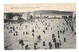 (25386-56) Pontivy - La Place Nationale Un Jour De Fête - Pontivy