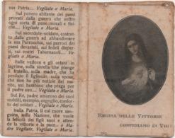 Santino Con La Madonna, Regina Delle Vittorie Confidiamo In Voi - Santini