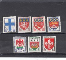 France - 1958 - N° YT 1180/86** - Armoiries De Villes - Francia