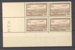 Algérie  -  Avion  :  Yv 4  **  Coin Daté Du   216-5-46 - Algerien (1924-1962)