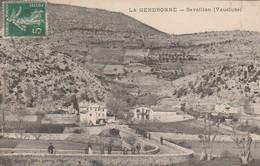 CPA  84  SAVOILLANS LA GENDRONNE ANIMEE - Francia