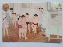 Nordkorea, Kinder, Impfung, Schwester, 1980 - Korea (Noord)
