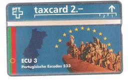 Schweiz - Switzerland - ECU Portugal - 2,- PTT - 424L - Mint - Schweiz