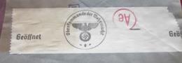 WW2 DEUTCHES REICH GEOFFNET CENSURE CENSOR OBERKOMMANDO DER WEHRMACHT Allemagne Empire 1944(IIIe Reich)Lettres Document - Alemania