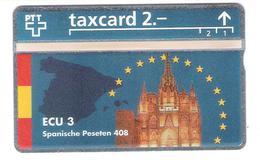 Schweiz - Switzerland - ECU  Spain - 2,- PTT - 401L - Mint - Schweiz
