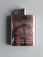 JIM BEAM Aansteker / Allumeur / Lighter / Leichter () +/- 7 X 5 Cm. / 80 Gram. ! - Briquets