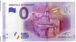 CONQUES - Aveyron - L'Abbatiale - 2016 - EURO