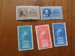 REGNO    POSTA PNEUMATICA  Lotto  Nuovi - 1900-44 Victor Emmanuel III