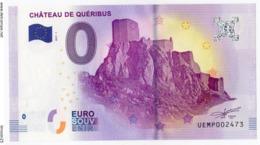 CUCUGNAN - Aude - Le Château De Quéribus - 2017 - EURO