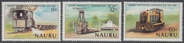Nauru 1980 - The 10th Anniversary Of Nauru Phosphate Corporation - Mi Block 211-213 ** MNH - Nauru