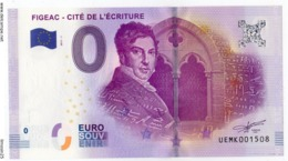 FIGEAC - Lot - Cité De L'écriture - 2017 - EURO