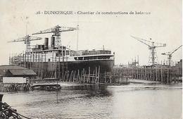59)  DUNKERQUE  -  Chantier De Constructions De Bateaux - Dunkerque