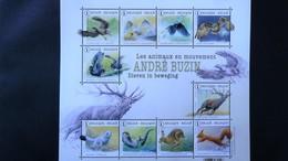 BL 225** Neuf – Animaux En Mouvement – André Buzin.  10 Timbres - Blocs 1962-....