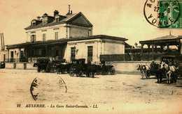89 AUXERRE LA GARE Saint Gervais Bon Etat - Auxerre