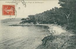 83 PORQUEROLLES / La Plage De Malbousquet / - Porquerolles