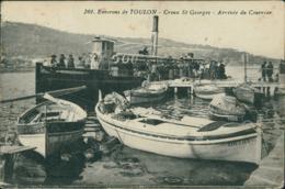 83 SAINT MANDRIER / Le Creux Saint Georges - Arrivee Du Courrier / - Saint-Mandrier-sur-Mer