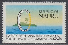 Nauru 1972 - The 25th Anniversary Of South Pacific Commission - Mi 86 ** MNH - Nauru
