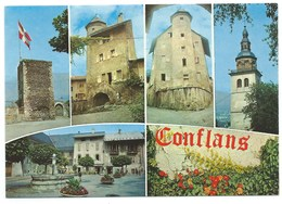 CARTE POSTALE CONFLANS CITE MEDIEVALE - Francia