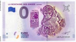 KINTZHEIM - Bas Rhin - La Montagne Des Singes, 50 Ans - 2019 - EURO