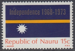 Nauru 1973 - The 5th Anniversary Of Independence - Mi 87 ** MNH - Nauru