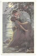 Cpa...illustrateur Italien...Busi .Adolfo...art Nouveau...couple .... - Busi, Adolfo