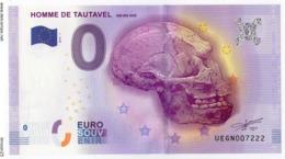 TAUTAVEL - 66 - L'homme De Tautavel - 450 00 Ans - 2016 - EURO