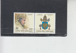 VATICANO 1998 - Sassone 1106 - Papi - Leone XII - Nuevos