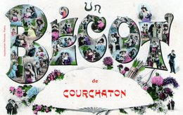 (Hte Saone)  CPA  Courchaton  Un Becot (Bon Etat) - Altri Comuni