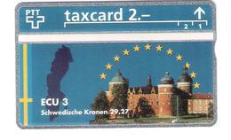 Schweiz - Switzerland - ECU 3 - Sweden - 2,- PTT - 510L - Mint - RRR - Schweiz
