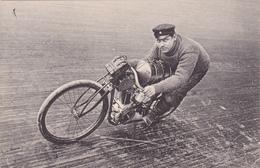 """MOTO-Les Sports - Nos  MOTOCYCLETTISTES- """"PEGUY""""-N.D.-Bon Etat - Motos"""