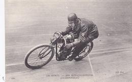 "MOTO-Les Sports - Nos  MOTOCYCLETTISTES- ""CHAMPOISEAU""-N.D.-Bon Etat - Motos"