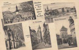 AK - Polen - Gruss Aus KRAKAU - Mehrbild Mit Strassenansichten 1940 - Polen