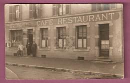 Epinal 3 Cartes Photo Terminus Du Champ Du Pin Poste, Salon De Coiffure E Klein Café Restaurant - 1925 - Epinal
