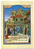 CARTE POSTALE HISTOIRE DE SAINT LOUIS ACCOMPAGNE DE SA MERE BLANCHE DE CASTILLE PELERINAGE A ROCAMADOUR - History