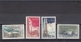 France - 1959 - N° YT 1203/06** - Réalisations Techniques - Unused Stamps