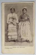 C. P. A. : TONGA : Greetings From Tongan Man And Wife - Tonga