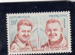 France - 1959 - N° YT 1213** - Hommage Aux Pilotes D'essai - Neufs