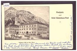 SPLÜGEN - POSTPLATZ UND HOTEL BODENHAUS POST - TB - GR Graubünden
