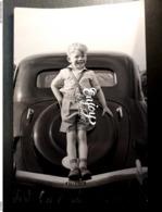 PHOTO CITROEN TRACTION ENFANT  MODE TENUE EPOQUE - Auto's