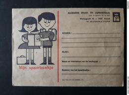 ASLK - Enveloppe 'mijn Spaarboekje' - Publicités