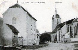 (Hte Saone)  CPA  Vy Les Lure  Eglise  Vue De Derriere   (Bon Etat) - Frankreich