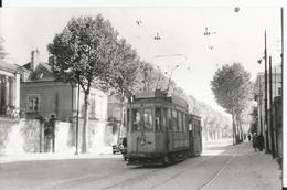 Carte Photo  - Tramway à Nantes - Ligne Saint Joseph - Photo Laurent - Nantes